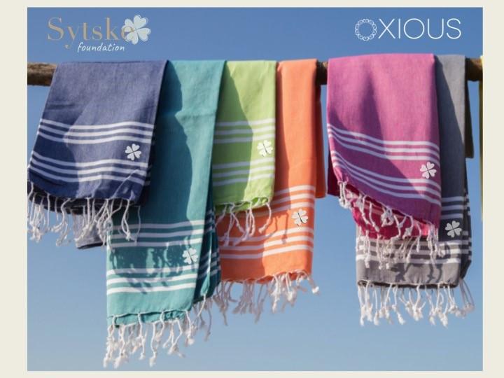 Oxious Hamamdoeken voor Sytske Foundation, OPBRENGST tot nu toe: € 450! Heel hartelijk dank Esther!