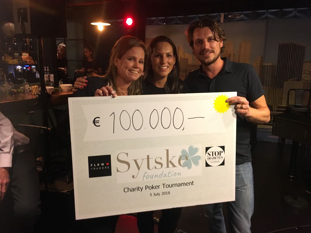 WHAT A NIGHT! Pokertoernooi voor Sytske Foundation! Opbrengst: €100.000!!