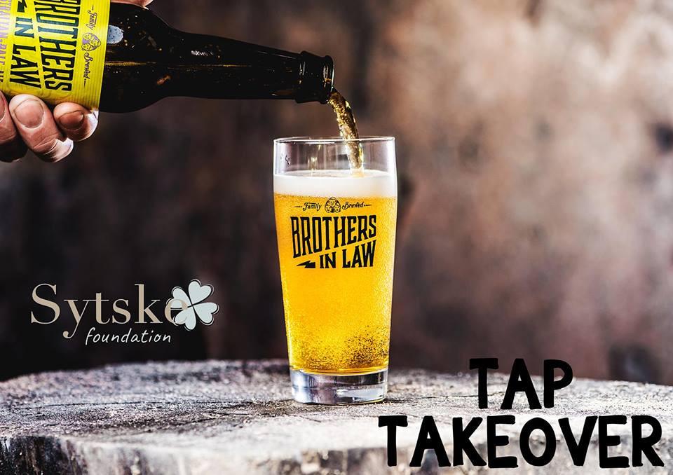 TAP take over Brothers-in-law Brewing voor Sytske: OPBRENGST € 162 ! Lokaal de Pijp, heel hartelijk dank!