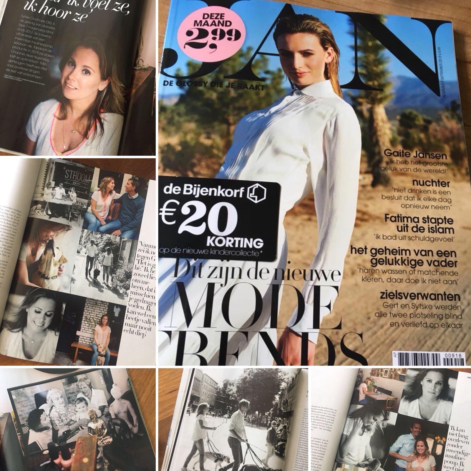 Sytske's interview aan JAN magazine, een kijkje in haar leven!