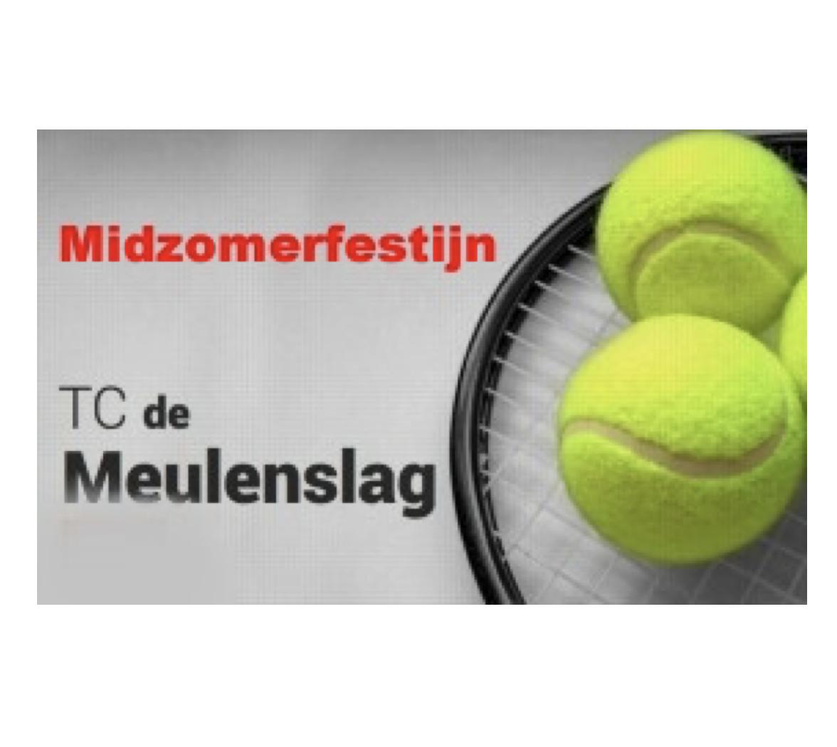 Midzomerfestijn TC De Meulenslag: Opbrengst alle acties: € 2.400! Geweldig bedankt!