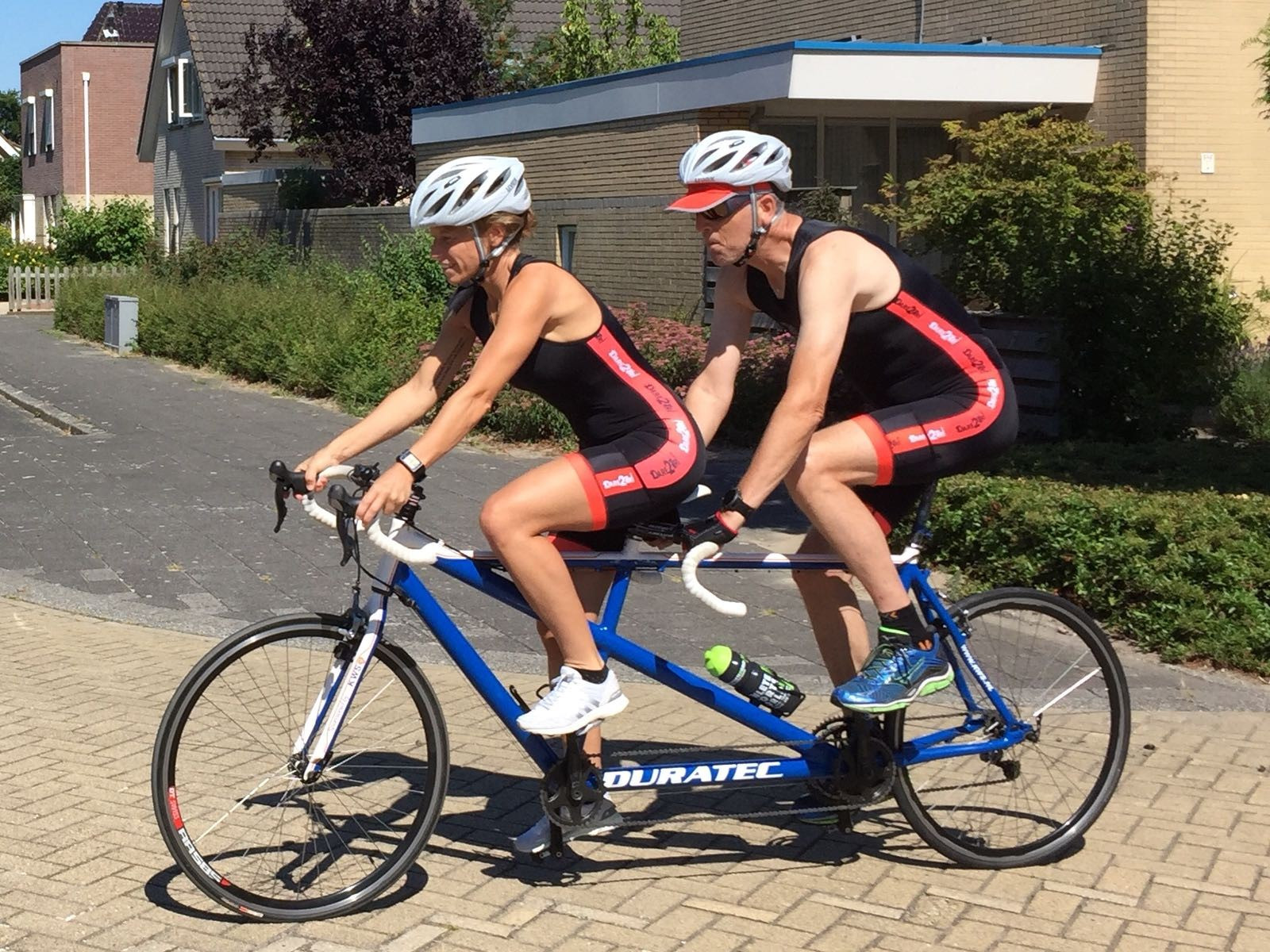 Mijn 1e triatlon voor de Sytske Foundation! Opbrengst € 220! Super gedaan!