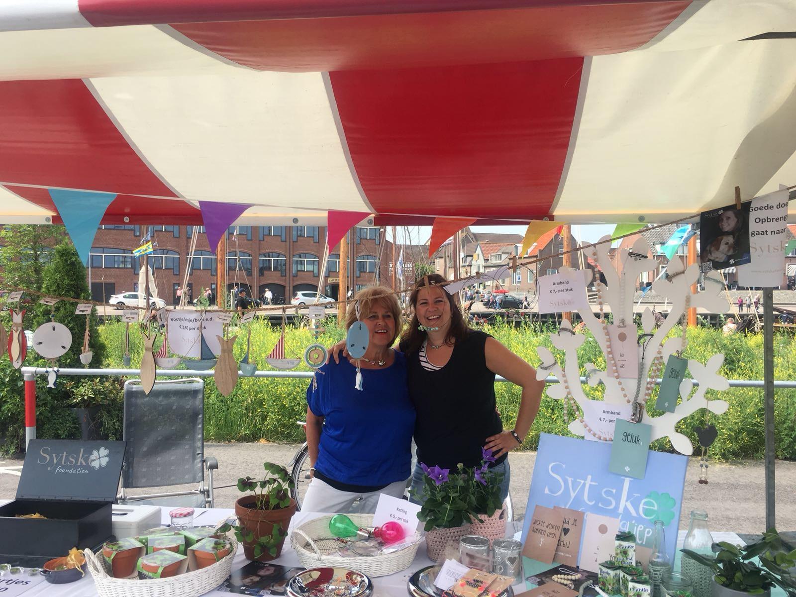 Aaltjesdag in Harderwijk voor Sytske Foundation: Opbrengst €450! DANK!